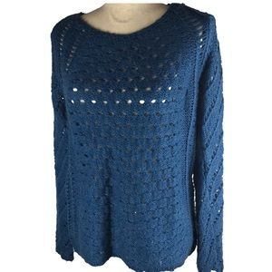 Nordstrom DEX Chunky Open Knit Casual Sweater